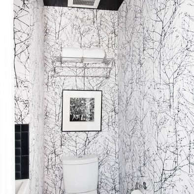 Birch Tree Wallpaper Design, Pictures, Remodel, Decor and Ideas - page 2