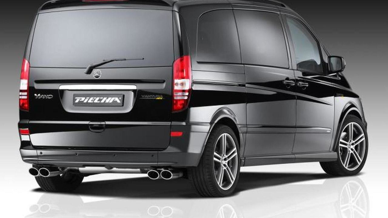 Mercedes Benz Viano Facelift By Jms And Piecha Design 18 11 2013