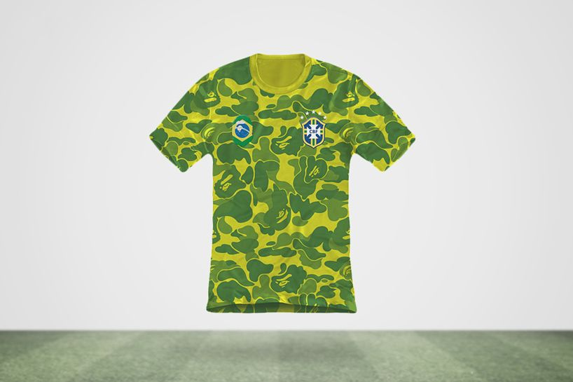 dead dilly imagines world cup jerseys created by famous fashion designers - designboom | architecture