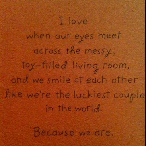 we are the luckiest <3