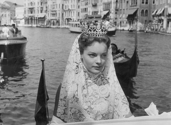 Romy Schneiderin Venedig 1957 - Reportage von Max Scheler Dossier-Hauptmedium/Süddeutsche Zeitung Photo