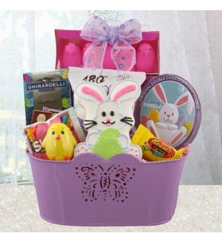 The easter bunny knows everybody loves easter treats and some bunny easter basket delivery unique easter gift baskets for kids negle Gallery