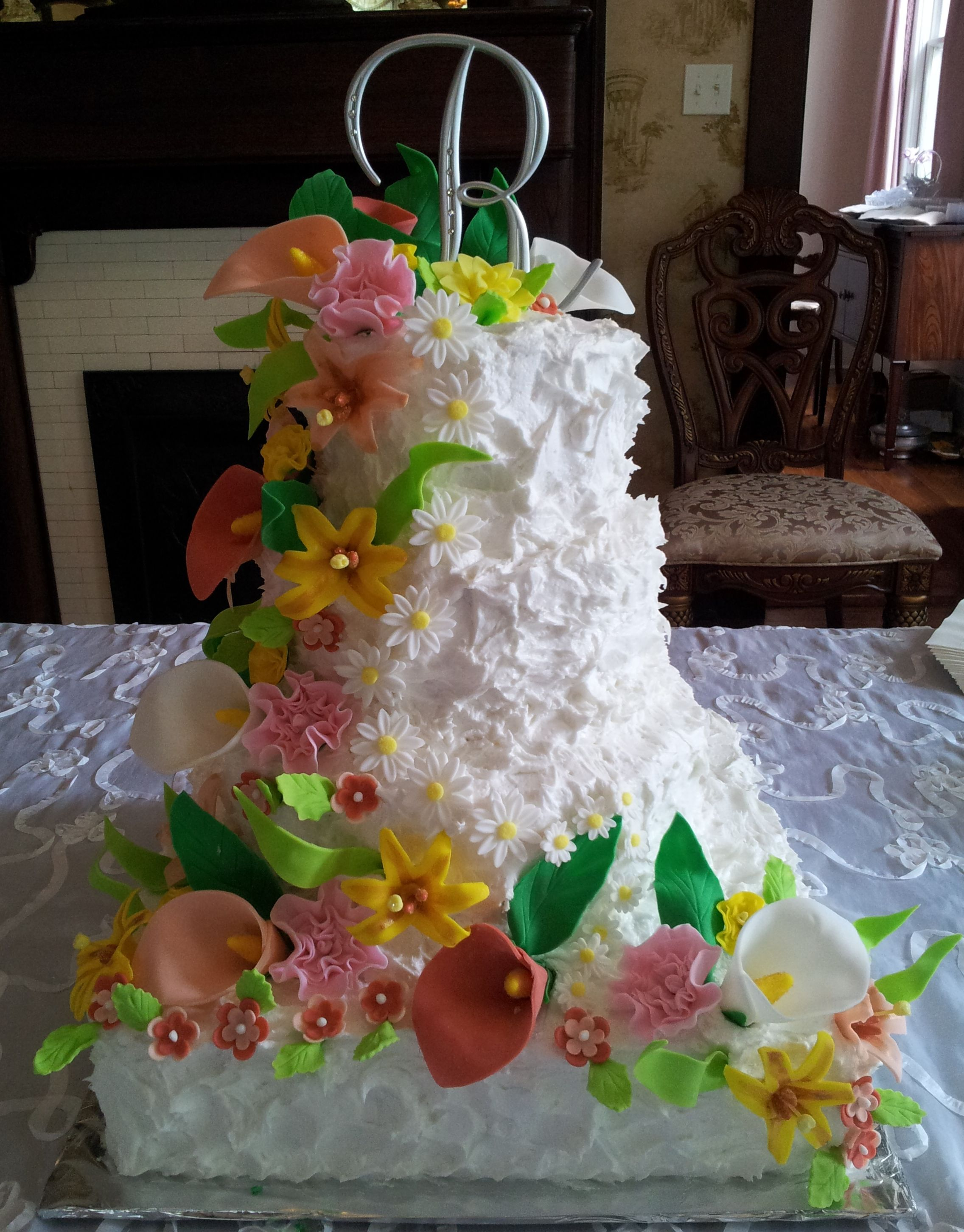 edible floral cake decorations
