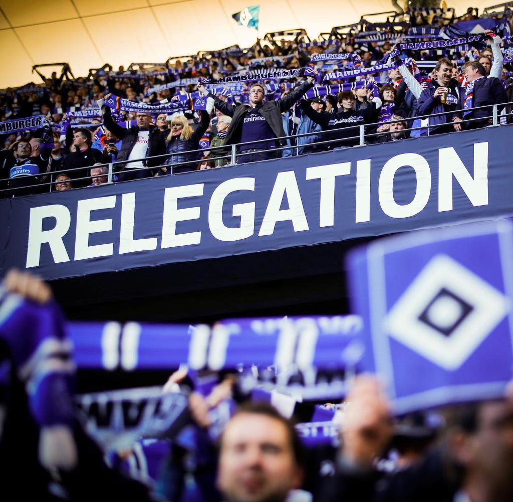 Football Soccer   Relegation Hamburger