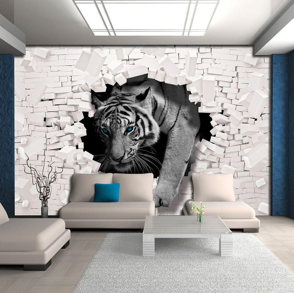 Vlies Tapete Fototapete Tapeten Mauer 3d Tiger Tier Katze Tapeten Fototapeten Sonnenuntergang Heute Sonnenaufgang Heut In 2020 Lion Sculpture Diy Kitchen Table Wald