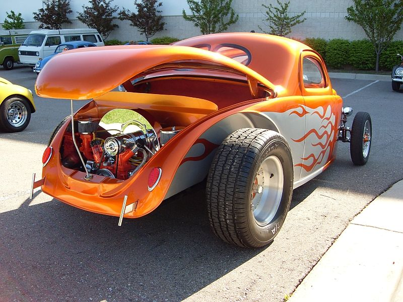 VW hot rod, beetle coupe