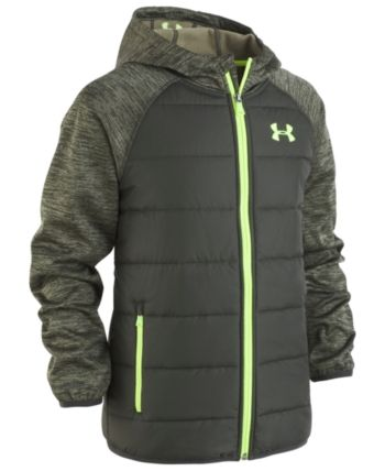 Mens Jacket Crosshatch Hooded Padded Quilted Two Tone FADEDOWN Lined Winter New