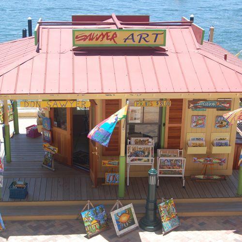 Don Sawyer Art Shop In Destin Fl Travel Sweepstakes Florida Style Destin