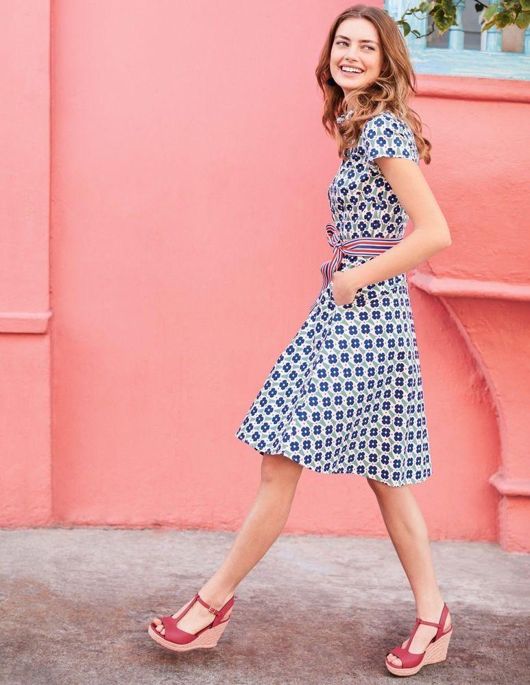 2ac7a096920 NEW BODEN SOPHIA SHIRT DRESS W0146 UK 8L SAMPLE Opal Green Dutch Floral 80  #fashion #clothing #shoes #accessories #womensclothing #dresses (ebay link)