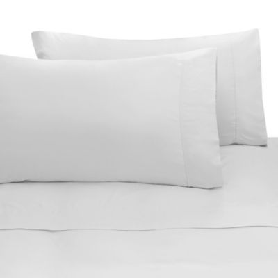Rayon Made From Bamboo King Sheet Set In White White Sheet Set