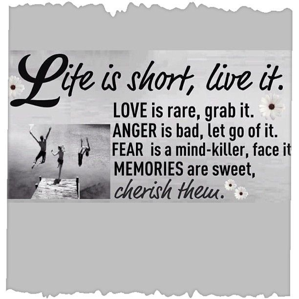 Life Is Short Live It To The Fullest Happy Life Quotes Quotes
