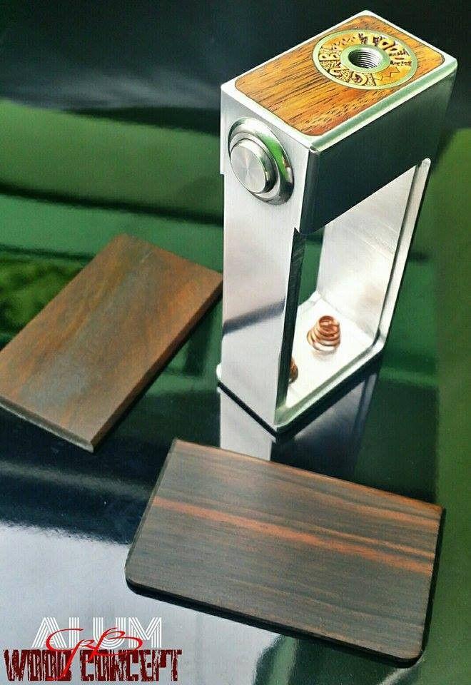 Authentic Fully Mechanical Alum Box Mod by GP Custom