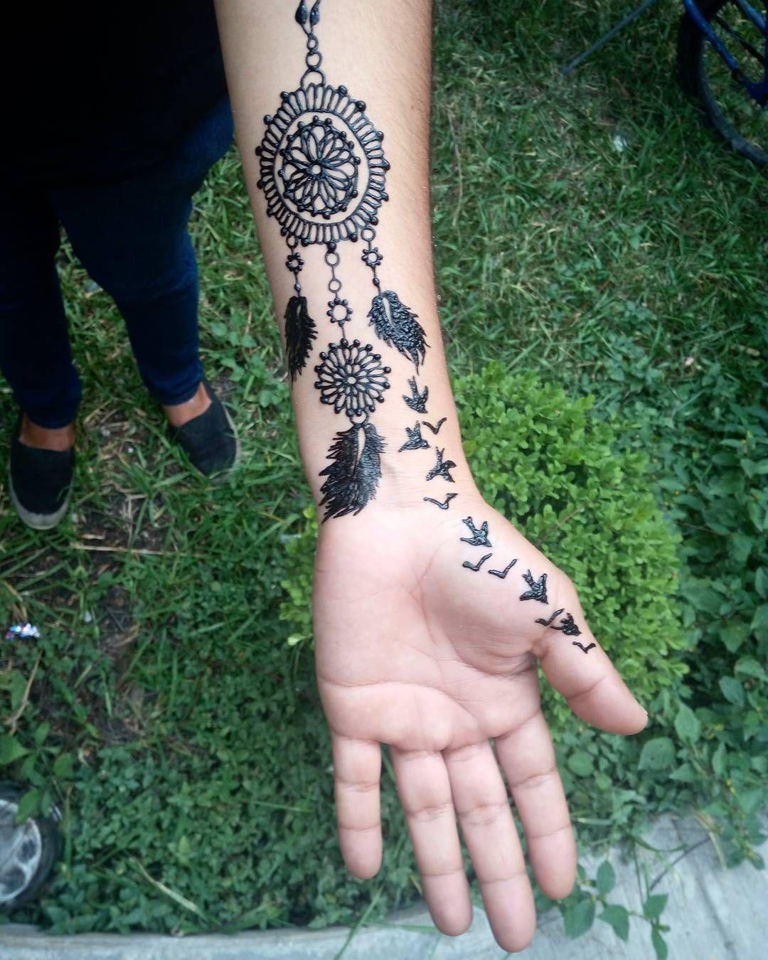 35 Imaginative Dream Catcher Tattoo Designs Page 17 of