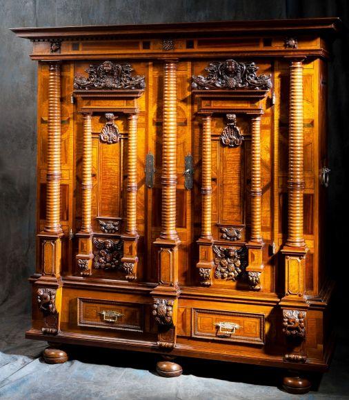 Meubles Anciens Armoire Alsacienne 7 Colonnes Bertrand Klein Antiquites Mobilier De Salon Armoire Meubles Anciens