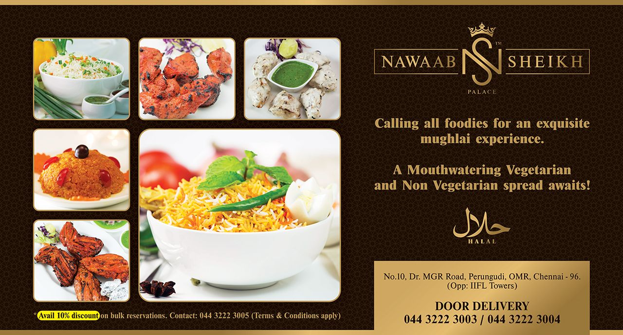 Celebrate This Weekend At Nawaabsheikhpalace And Avail 10 Discount On Bulk Reservations Bucketbiryani Omr Chennai Order Food Foodie Food