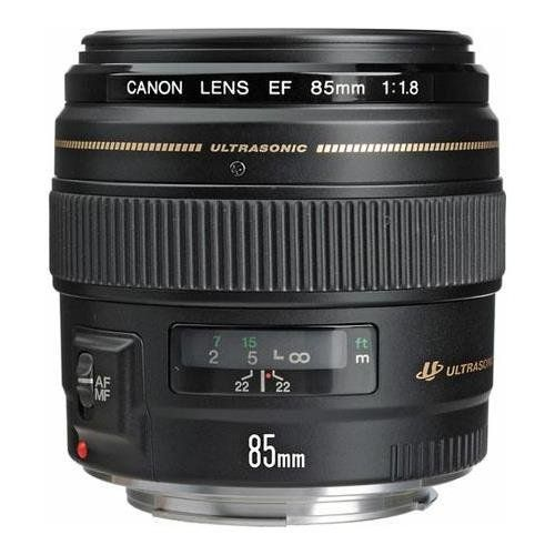 Canon EF 85mm f/1.8 USM AutoFocus Telephoto Lens Kit, with 58mm Filter Kit (UV/CPL/ND2), Lens Cap Leash, Cleaning Kit, With Pro Software Package (Includes Corel PaintShop Pro X7, Corel AfterShot Pro 2, Nuance OmniPage 18, FileCenter Standard 7)