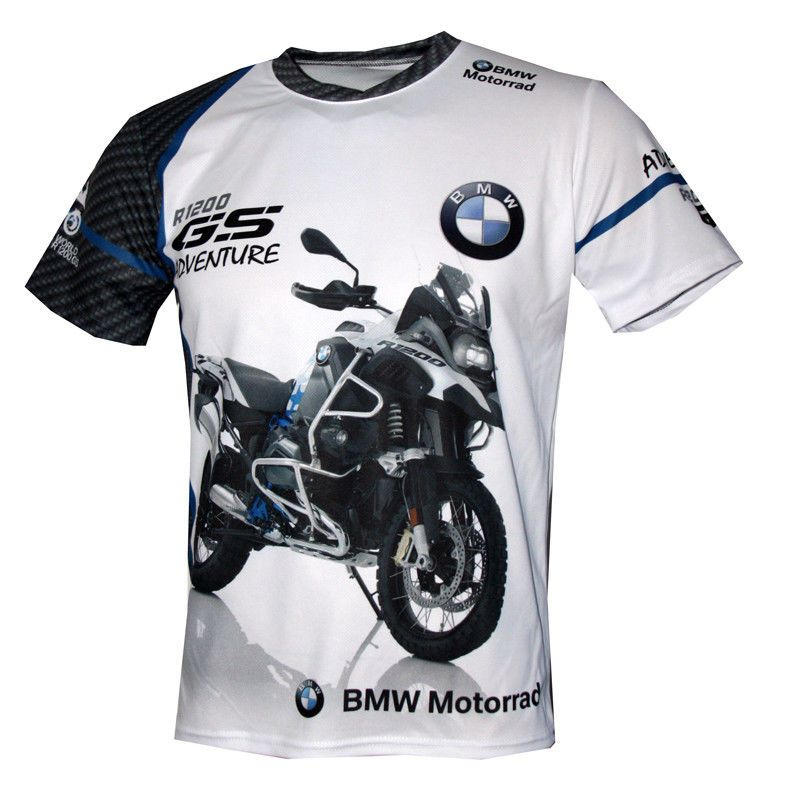 BMW R1200 GS STYLE INSPIRED MOTORCYCLE BIKE MEN/'S Tee T Shirt VARIOUS COLOURS