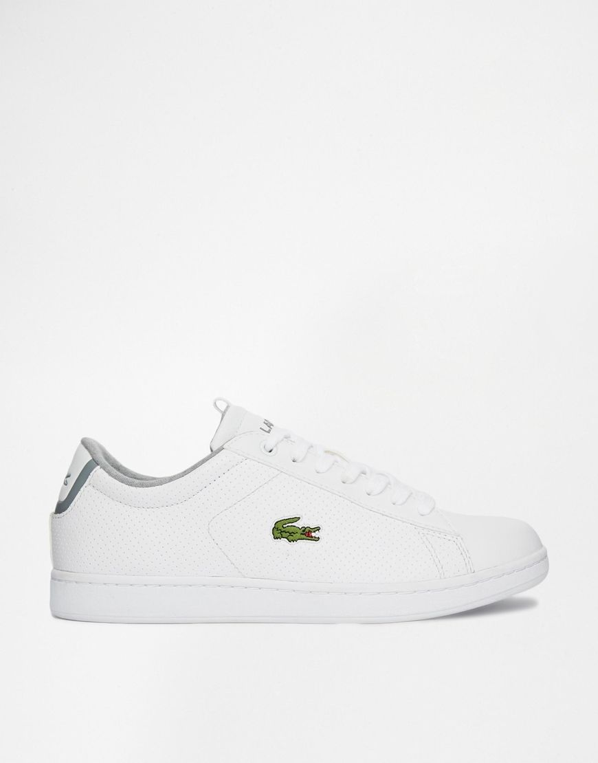 5677bae7f7 Lacoste - Carnaby EVO CLS - Baskets en cuir perforé | sneakers/shoes ...