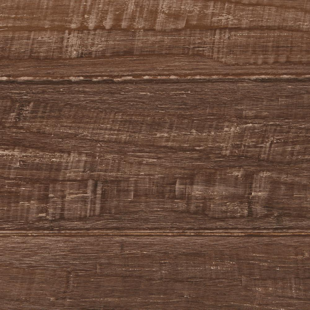Home Decorators Collection Take Home Sample Hand Scraped Strand Woven Sandbrook Solid Bamboo Flooring 5 In X 7 In Light Pecan Flooring Hardwood Floors Hardwood