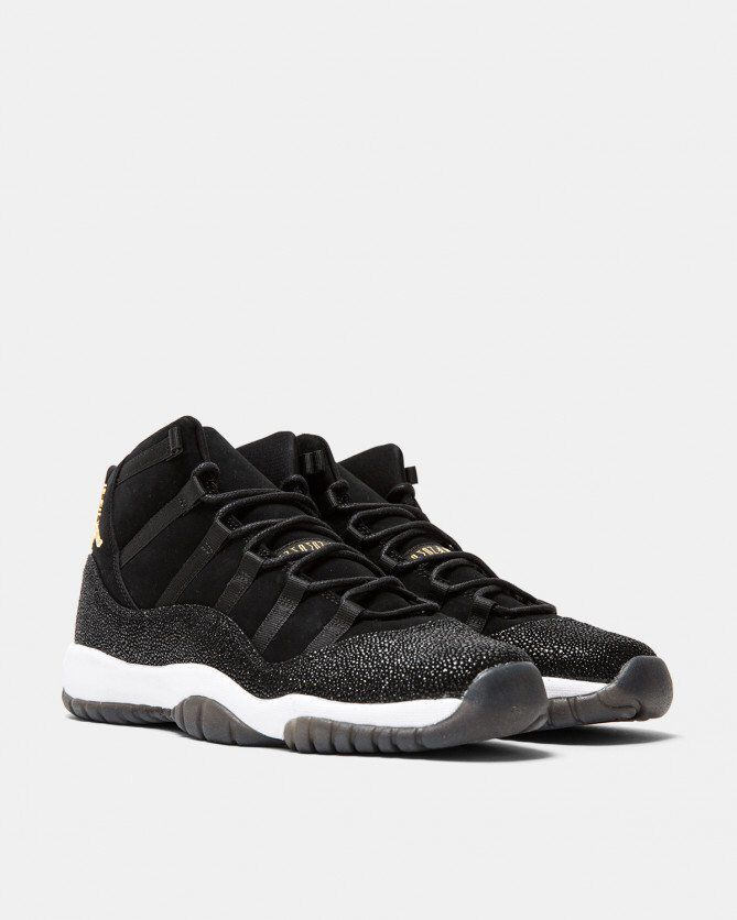 quality design 8df20 d1a3d Jordan Brand - Women s Air Jordan 11 Retro Premium  Heiress  (Black   Gold)