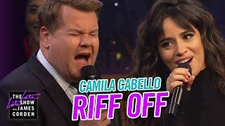 When James Corden takes a moment to opine on the hits that defined 1999, Camila Cabello shows up with The Filharmonic ready to defend the biggest bops of 2019, and the only way to settle it is a riff off. Camila offers Lil Nas X's