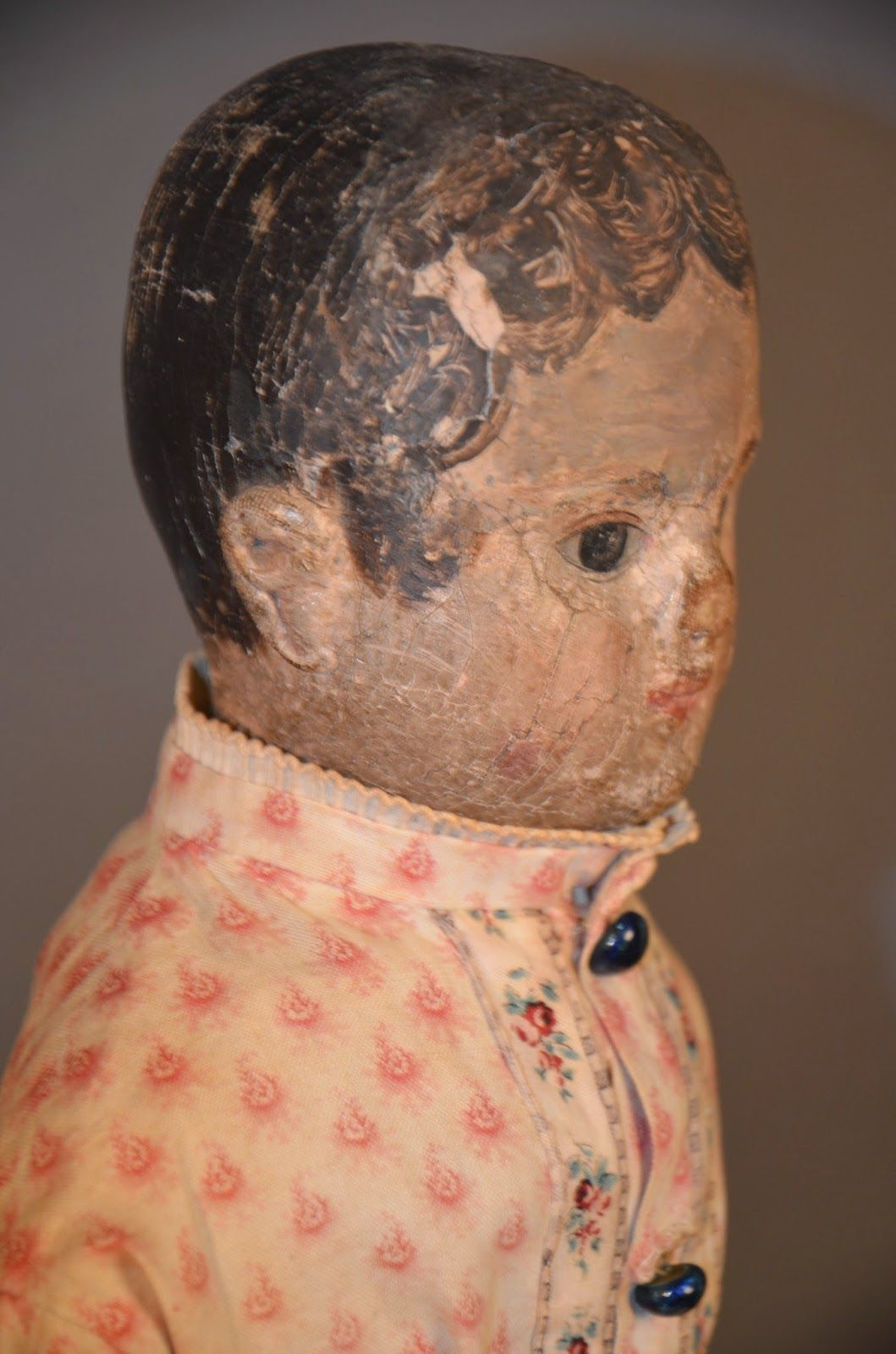 Withington's August Auction to feature TWO Izannah Walker Dolls.