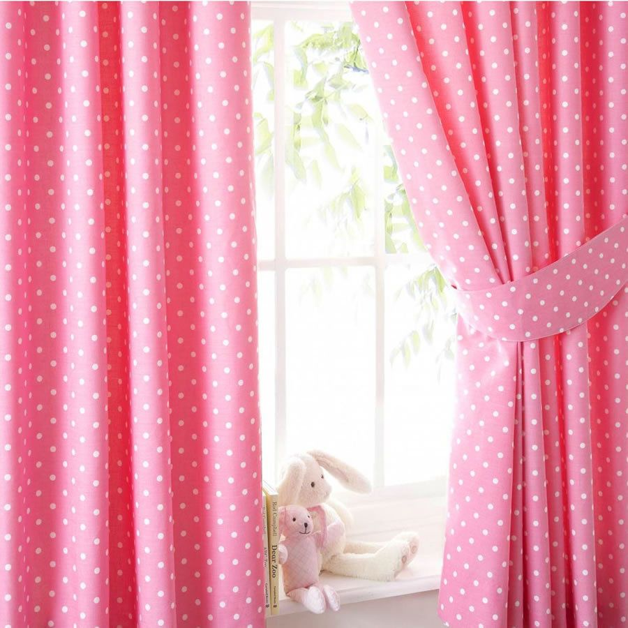 Other Items On Sale Pink Polkadot Curtains 72s Express Delivery (£2.95).  Next Working Day Description Each Curtain ...