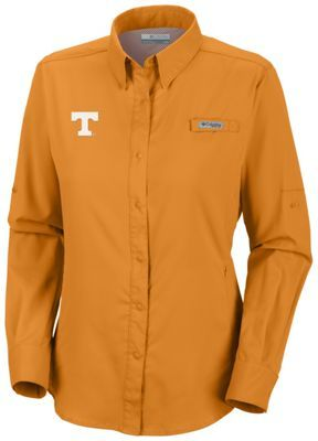 ee84d28f Women's Collegiate Tamiami™ LS Shirt - Tennessee | Cotton Mountain ...