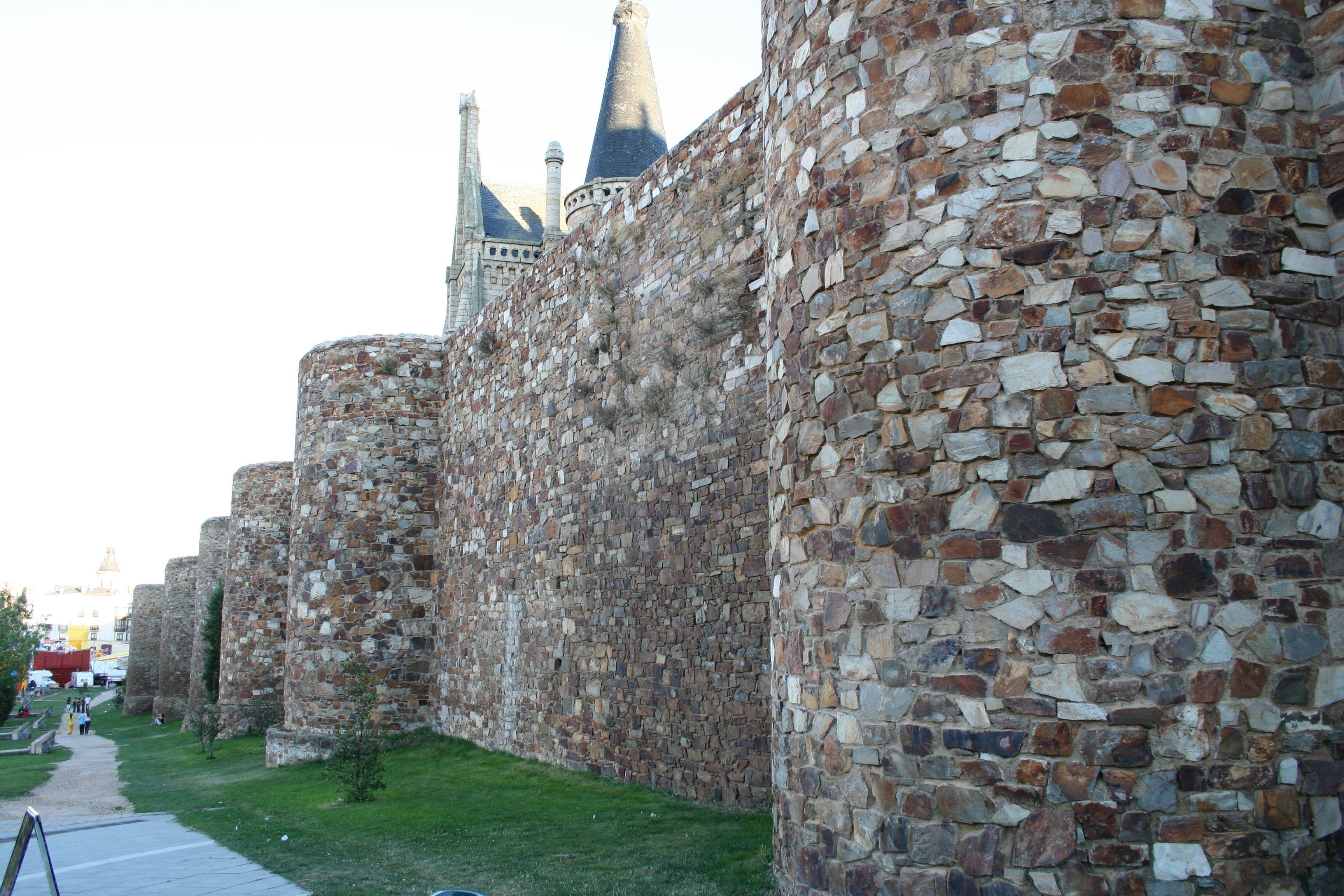 Las Murallas Romanas en Astorga, Leon
