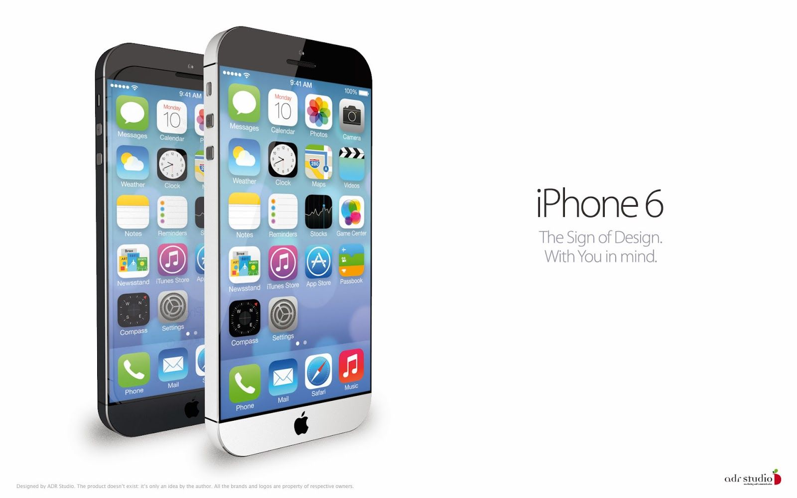 iPhone 6 Print Ad | Apple iphone 6, Apple iphone, Iphone