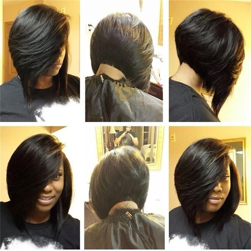 Astounding 1000 Images About Bob Hairstyles On Pinterest Quick Weave Bob Short Hairstyles For Black Women Fulllsitofus