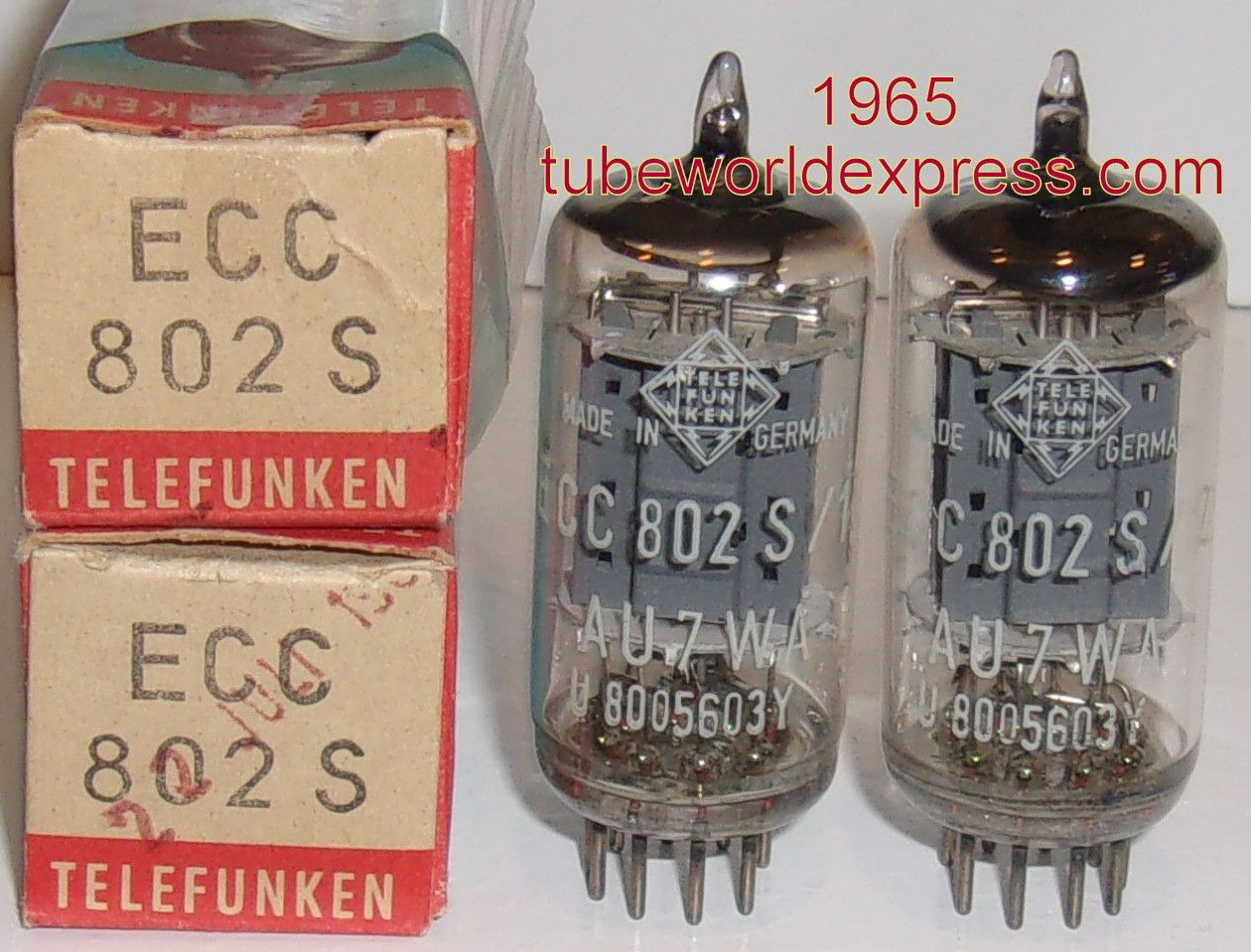 1 12au7 Pair Ecc802s 12au7 Telefunken Germany Lt Gt Bottom Mason Jar Wine Glass Wine Glass Pairs
