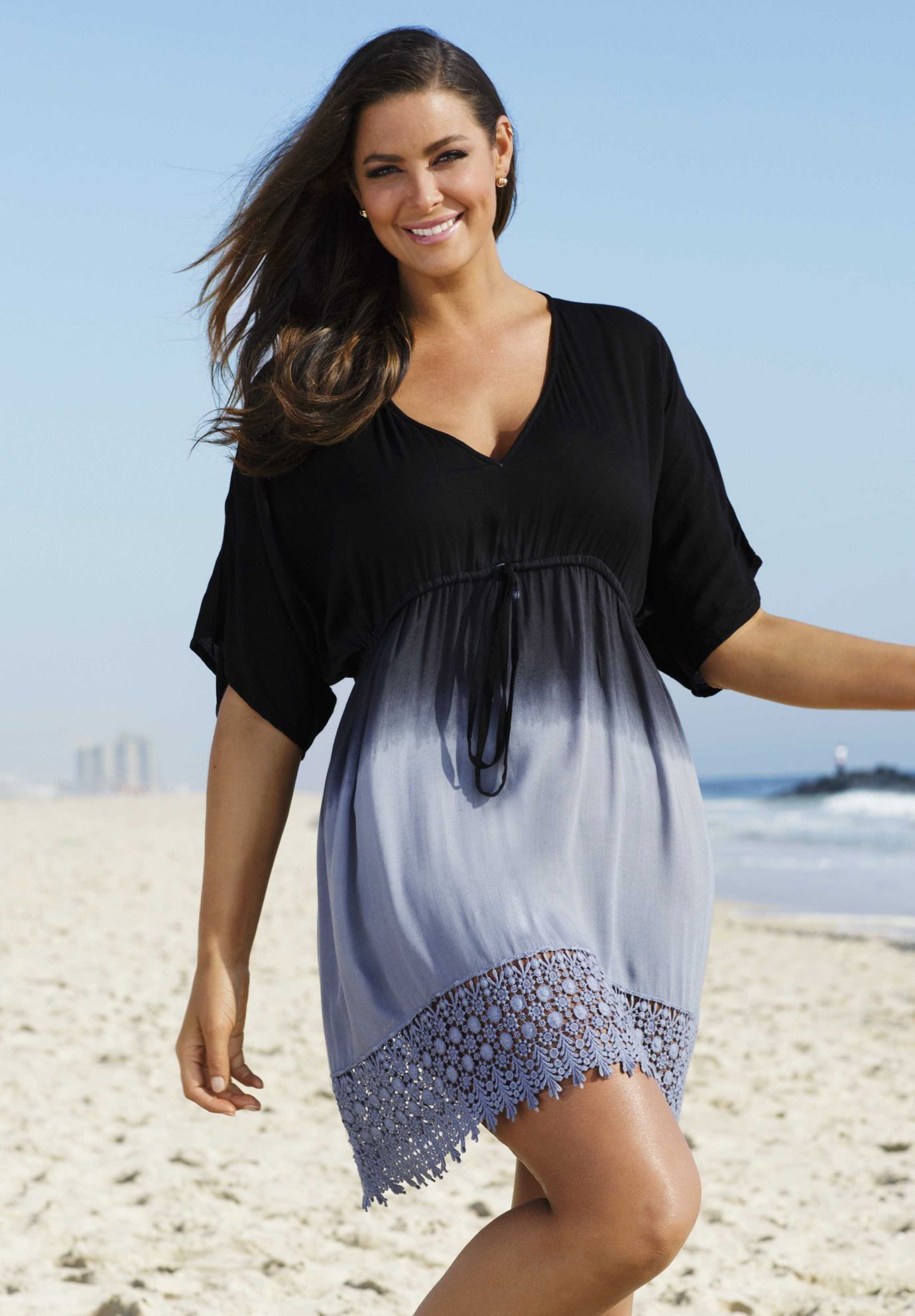 Now 3499 A Plus Size Coverup That Offers Both Style And Coverage