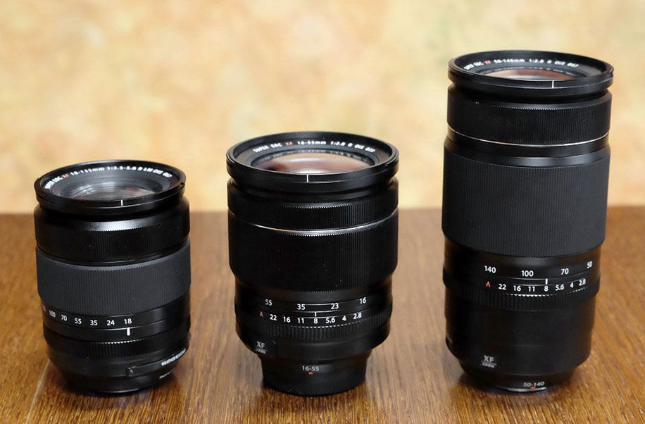 Pictures Of Future Fujinon Xf 50 140mm F 2 8 16 55mm F 2 8 And 18 135mm F 3 5 5 6 Lenses Photography Gear Lens Photography Lenses