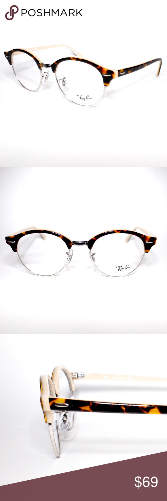 c42d10be1 Ray-Ban Clubround Optical RB 4246-V 5239 49.19 140 Ray-Ban Optical ...