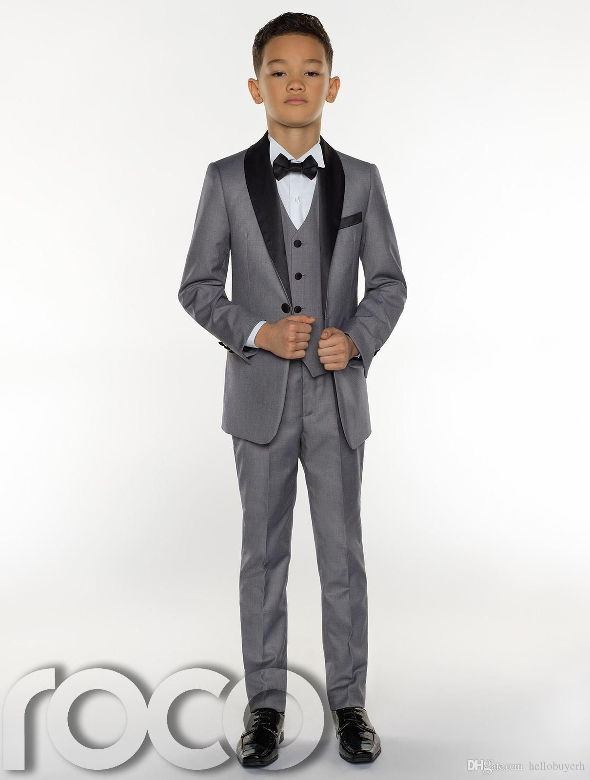 Suits & Blazers Creative Handsome Jacket Pants 2 Pieces Set Royal Blue Boys Suits For Wedding Dinner Formal Suits For Children Kids Tuxedos Suitable For Men And Women Of All Ages In All Seasons