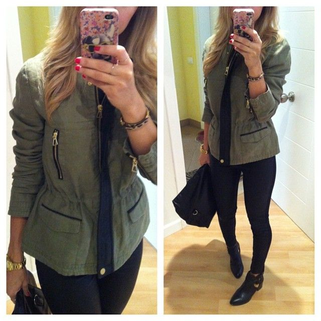 Nos+vamos+de+paseo!!!!+ #look+#today+#me+#blonde+#style+#jacket+#zara+#military+#leather+#black+#pants+#boots+#cutout+#stradivarius+#lookoftheday+#instafashion+#instastyle+#rednails+#trendy+#styleoftheday+#outfit+#ootd+#fashion+#home+#selfie+#todayimwearing