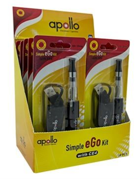 Wholesale Electronic Cigarette-APOLLO SIMPLE EGO KIT (10-SET BOX)-ON