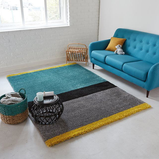 tapis style berb re afaw la redoute interieurs d co pinterest shaggy rug shaggy and teal. Black Bedroom Furniture Sets. Home Design Ideas