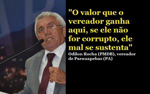 Vereador que disse que não da pra viver com salário (de R$ 10 mil), é preso por corrupção | Clique Imagem