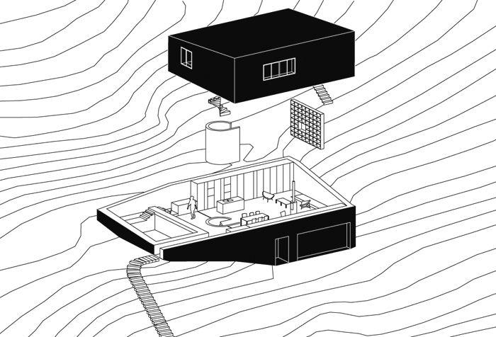 Maison individuelle à Saint-Romain © PARC Architectes