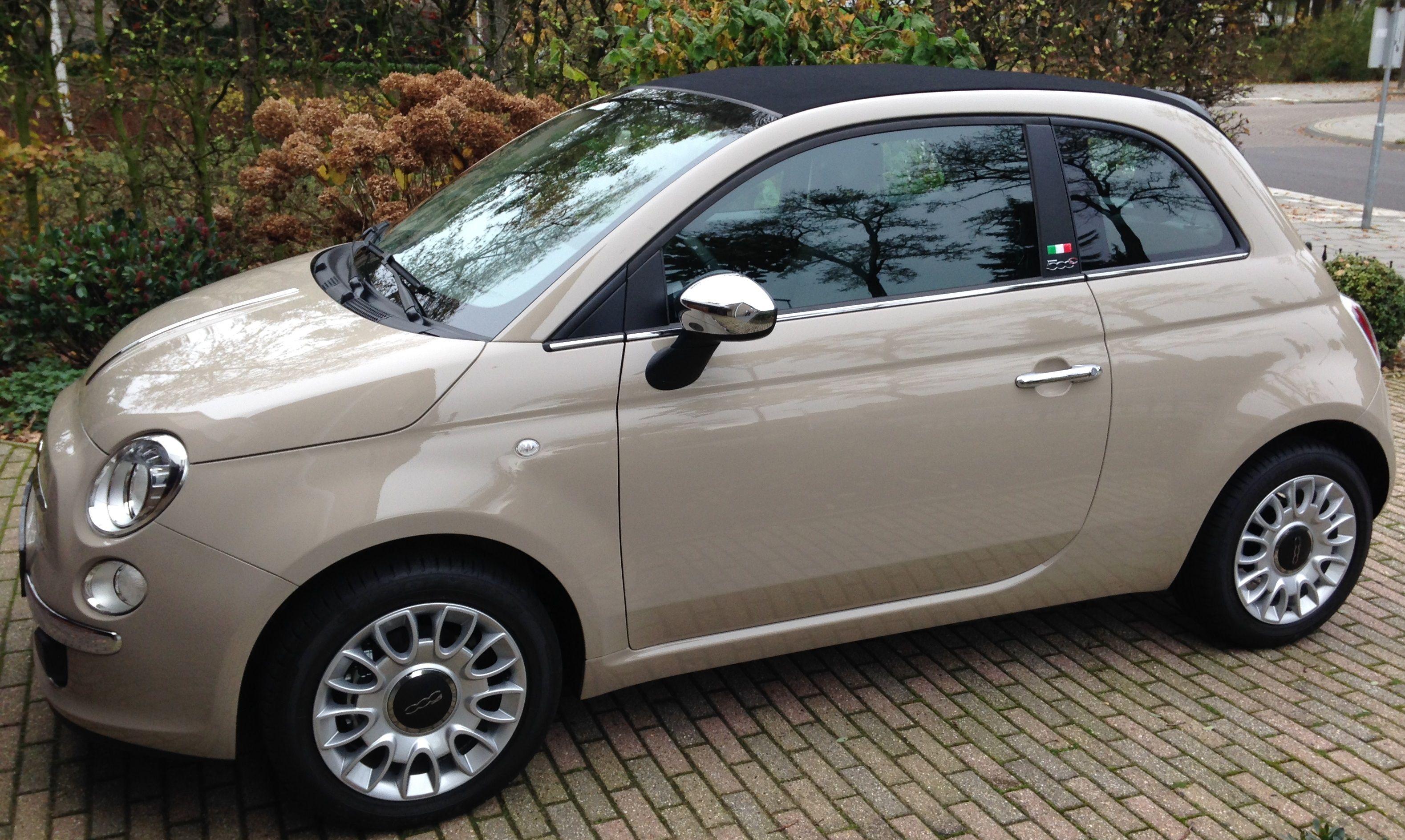 Fiat 500c Indie Cream Fiat 500 Accessories Fiat 500c Fiat Cars Smart Car