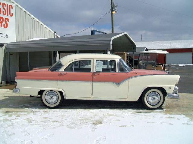 Image gallery 55 ford 4 door for 1955 ford customline 4 door