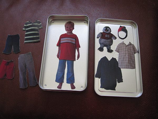 Custom Magnetic Paper Doll From Photos A Time Consuming Project But Special One That Your Child Will Enjoy Playing With And You Both