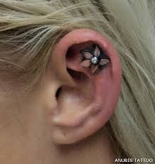 piercing within a tattoo - Google Search