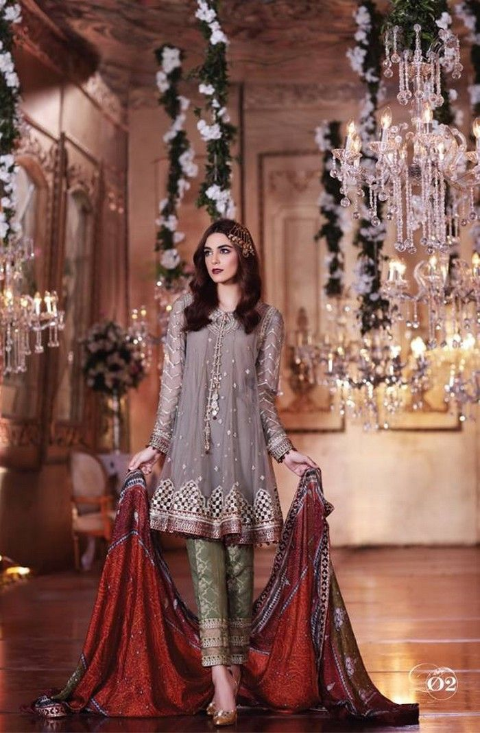 Mariab 2017 Eid Mbroidered Collection With Price Full Catalog