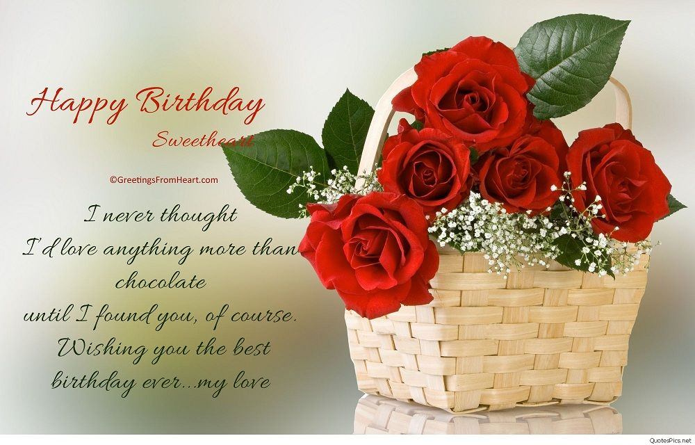 Lovely Flowers And Beautiful Birthday Wishes For Your Special Day