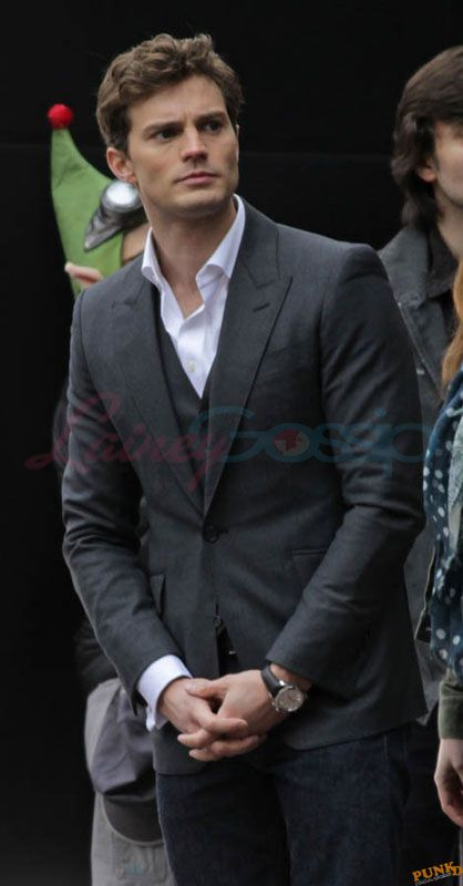 Jamie Dornan Is Really Hot On The Set Of Fifty Shades Of Grey