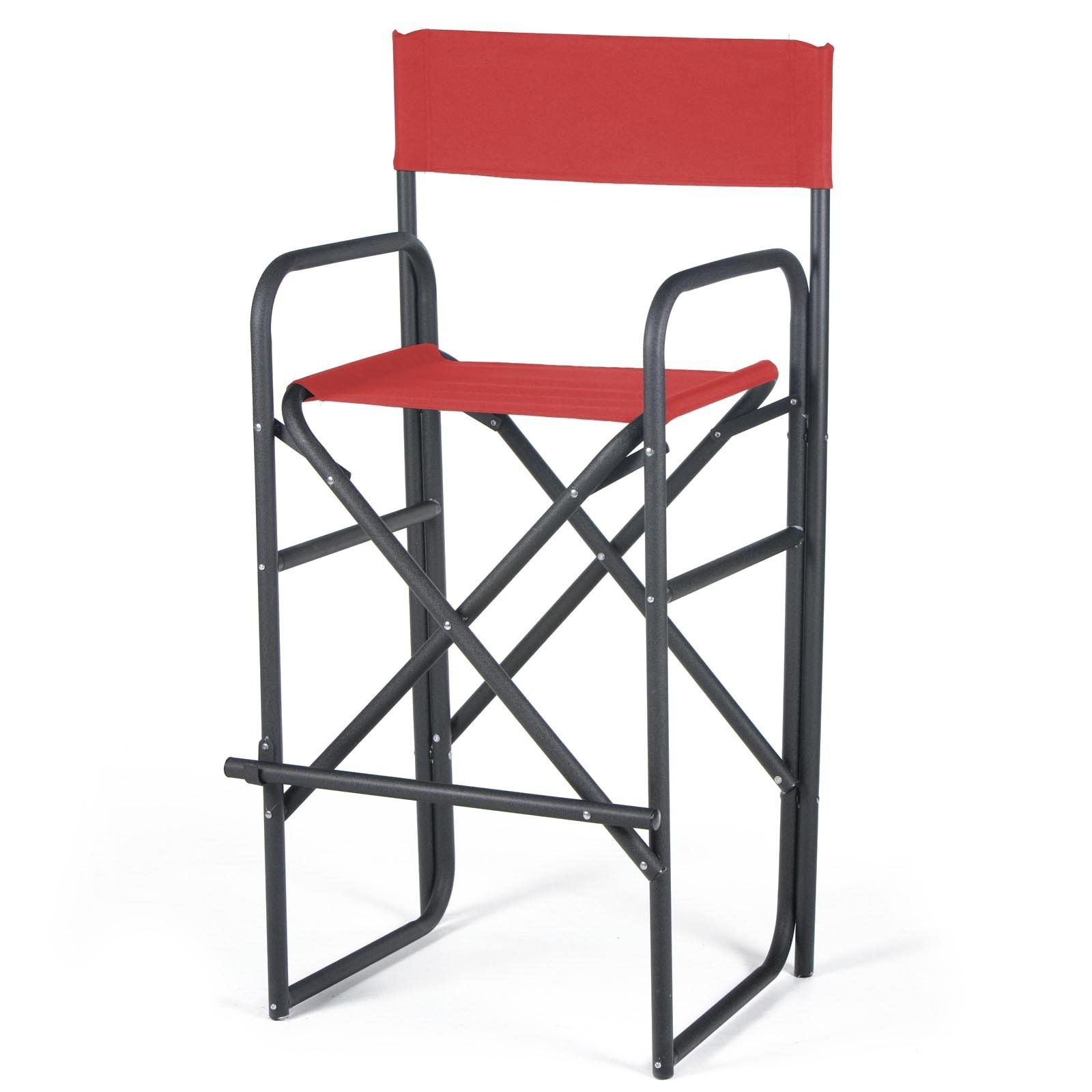 Genial Folding Captains Chairs Canvas