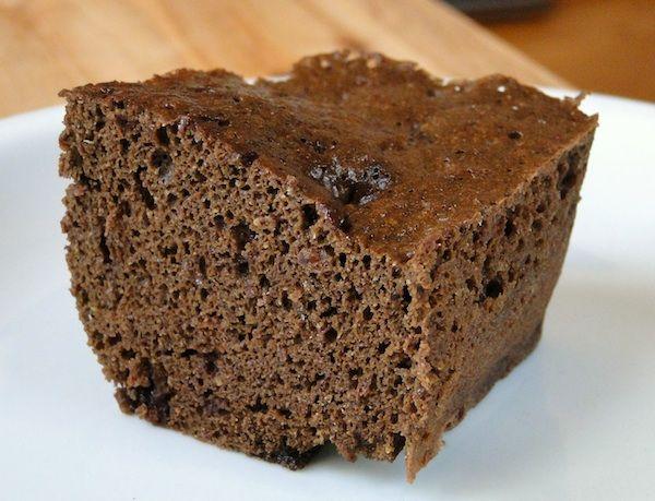 Microwave Chocolate Sponge Cake 2 Tbsp Finely Ground